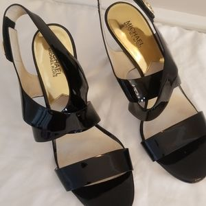 Michael Kors patent leather heels